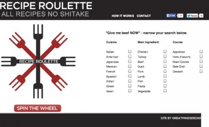 KICK START Sunday #2 – Recipe Roulette