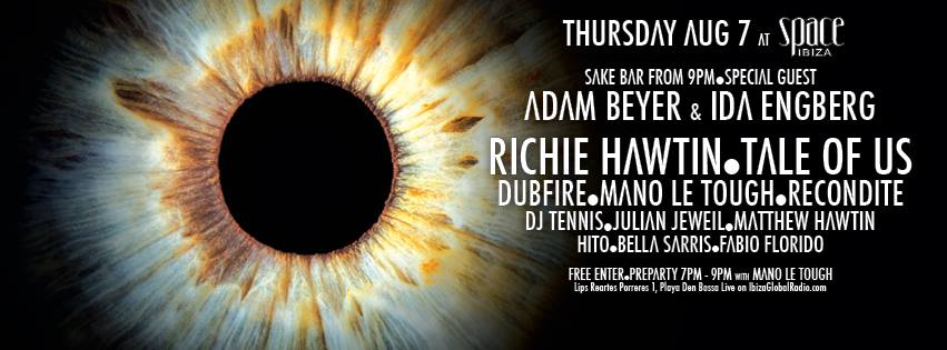 LIVE STREAM Richie Hawtin's enter Week #6
