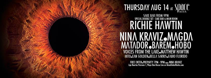 Richie Hawtin & Space: ENTER.Ibiza 2014 Week 7