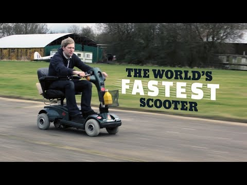 DIY Saturday #8 – How to build a 70MPH MOBILITY SCOOTER