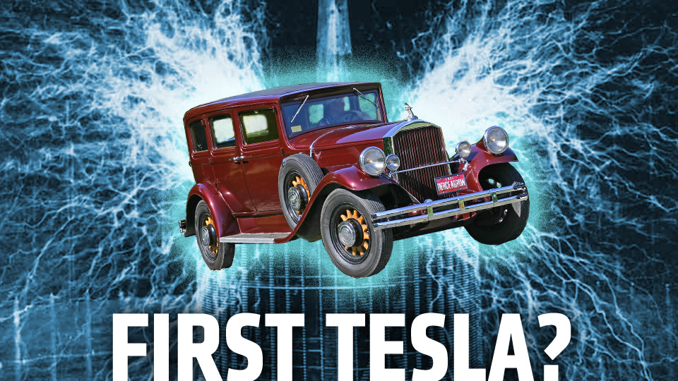 WHEELS Wednesday # 10 – Nikola Tesla's Pierce-Arrow Electric Car Battery