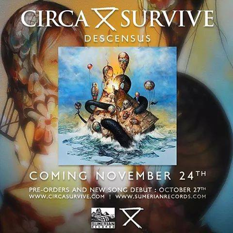 MUST SEE! Monday #15- Circa Survive Video Premiere