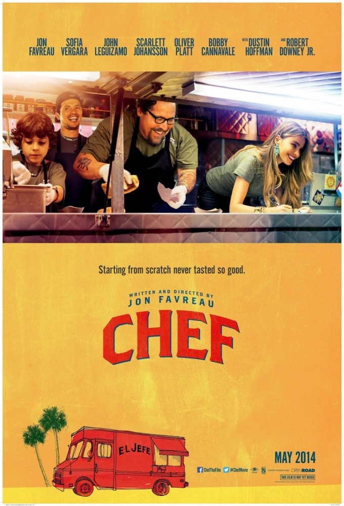 MUST SEE! MONDAY #20 – Jon Favreau's – CHEF (2014)