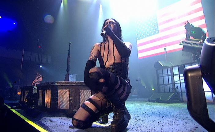 Marilyn Manson – Guns, God and Government Tour LIVE – (October 8, 2001, Los Angeles, California) 1080p True HD