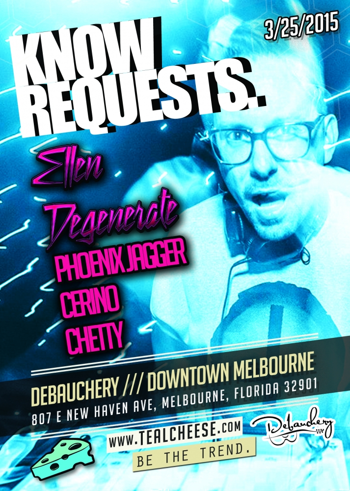FREE F*CKING PARTY! – TECHNO/HOUSE/BOOTYBASS (Know Requests @ Debauchery Melbourne, Florida)