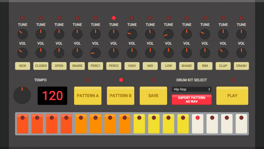FREE HTML5 Drum Machines