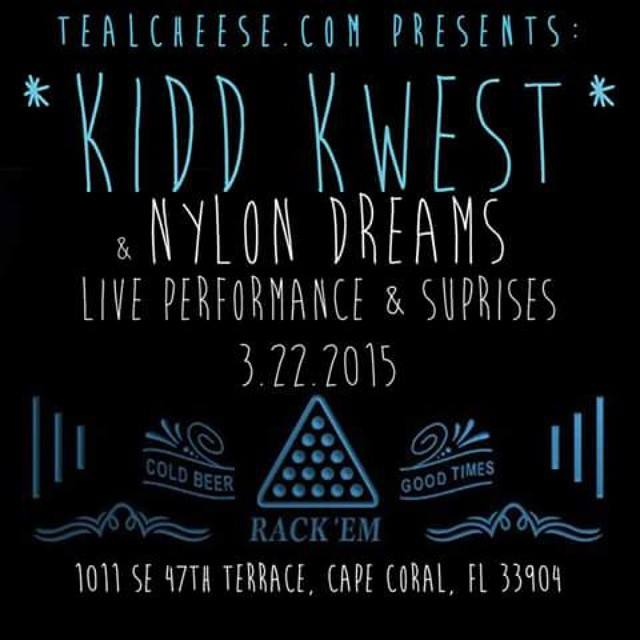 Teal Cheese Presents: Kidd Kwest LIVE Video @ Rack 'Em Billiards 3/22/15