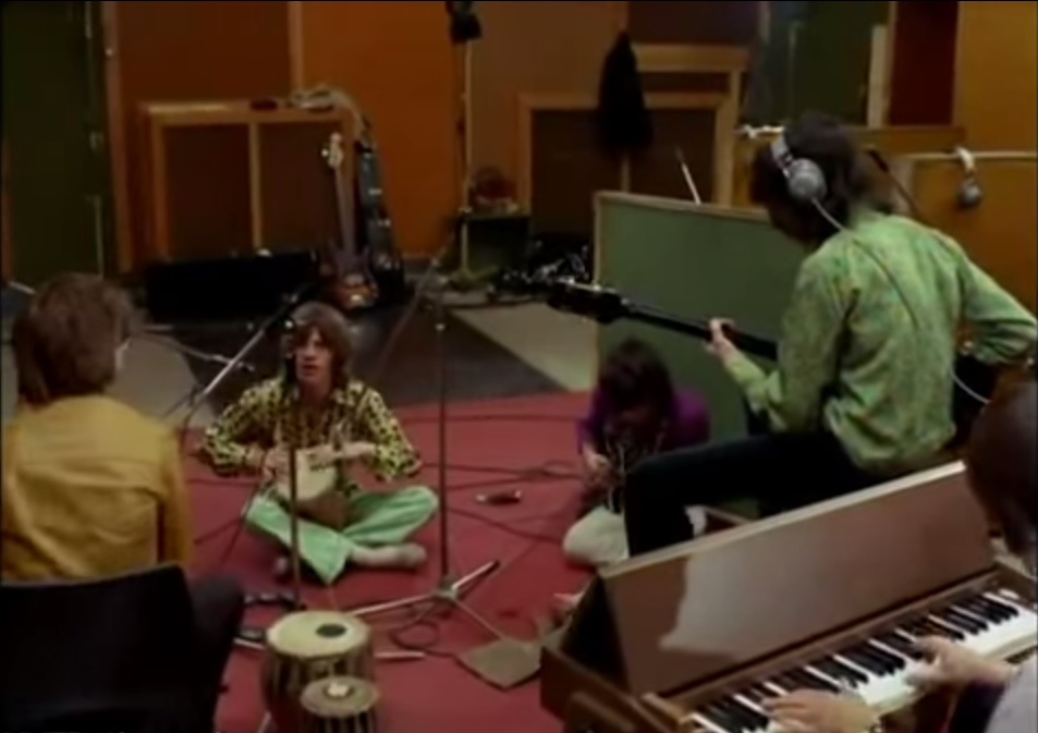 "The Rolling Stones In The Studio 1968 Recording ""Sympathy For The Devil"""