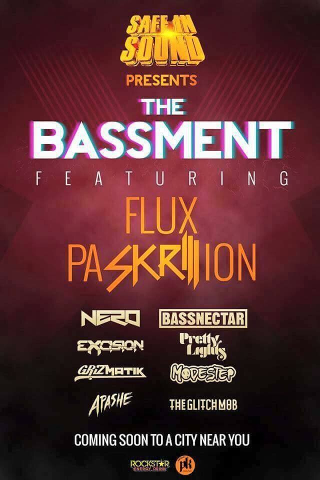 """Safe and Sound: The Bassment"" – Lineup Announcement"