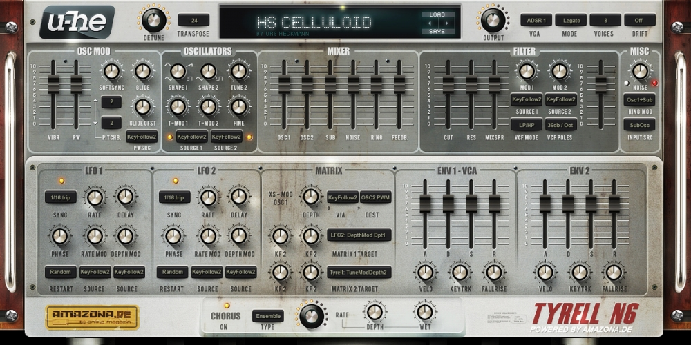 FREE VSTi SYNTHS – Tyrell Nexus 6 (download versions 1, 2, and 3