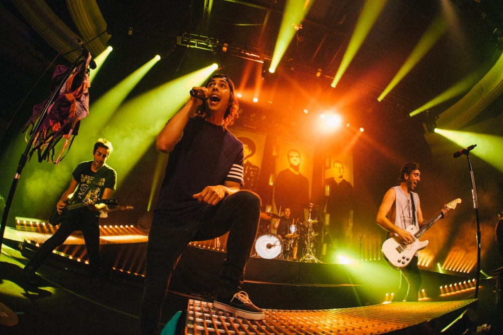 "Pierce The Veil Unleash New Track- ""The Divine Zero"""