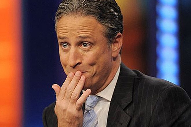 "Jon Stewart ""No jokes!"" as he reflects on American racism and violence."