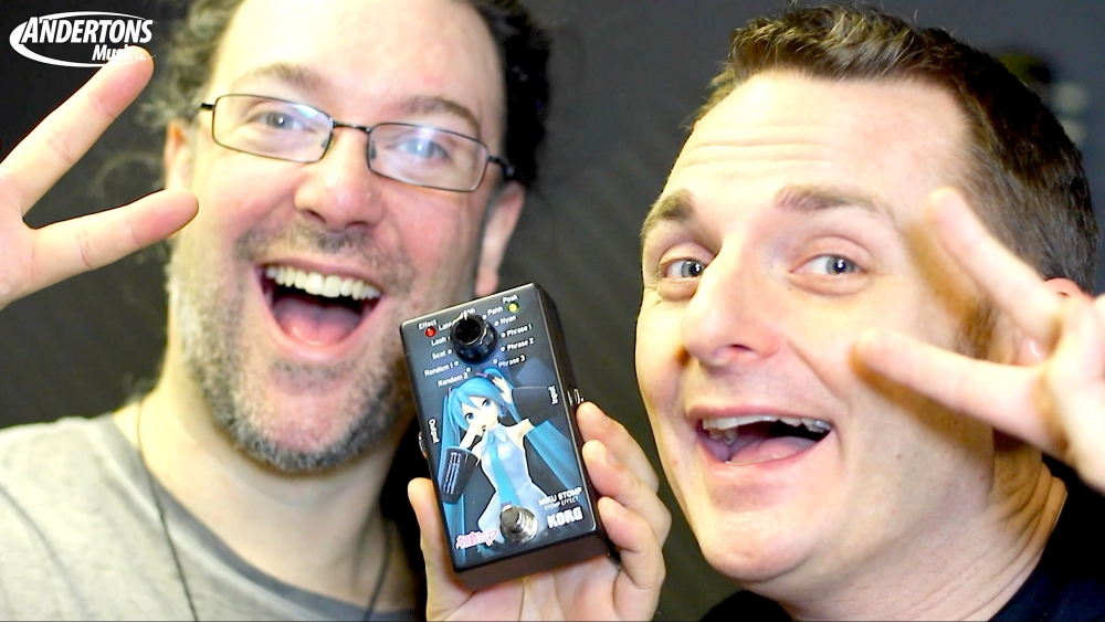 TECHNOLOGY Tuesday #24 – Korg Miku Guitar Pedal Review (Anderton's Music Co.)