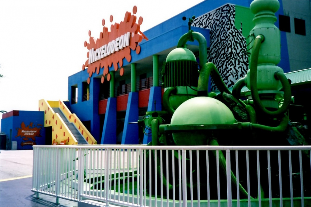 What happened to Nickelodeon Studios Orlando in Universal Studios Florida?