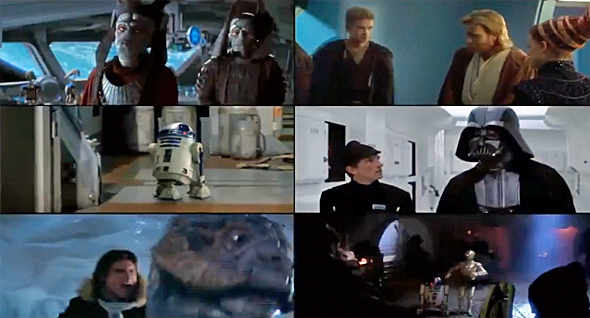 MUST SEE! Monday #31 – Star Wars Wars: All 6 Films At Once