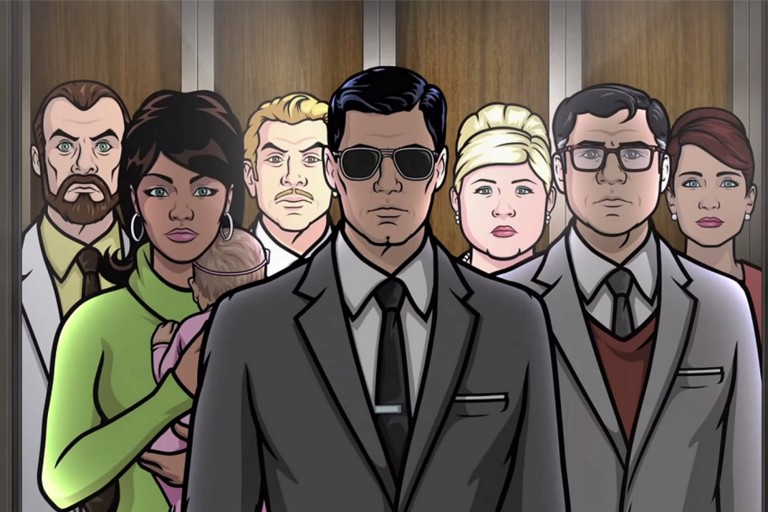 Archer- Season 6 Premiere on Netflix 3/29 & Season 7 Premiere on FX 3/31