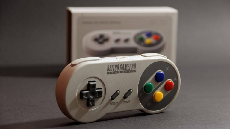 NES and SNES Bluetooth Game Controllers