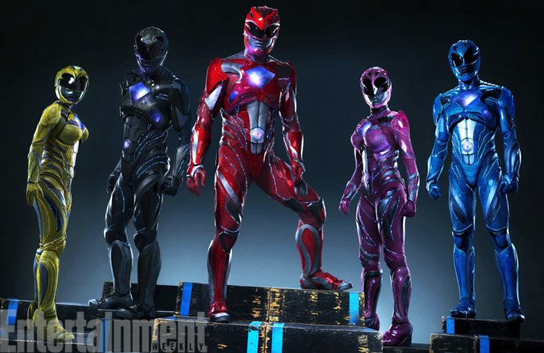 First Impressions of the New Power Rangers Reboot Suits