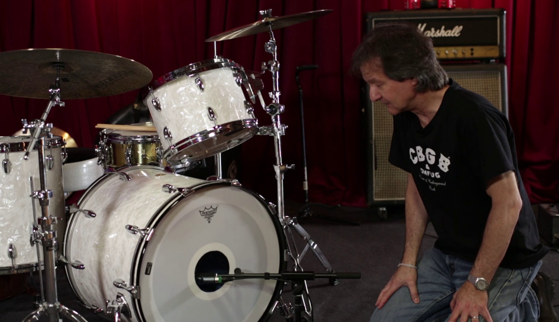Legendary Producer Bob Clearmountain: Recording Drums With 2 Microphones