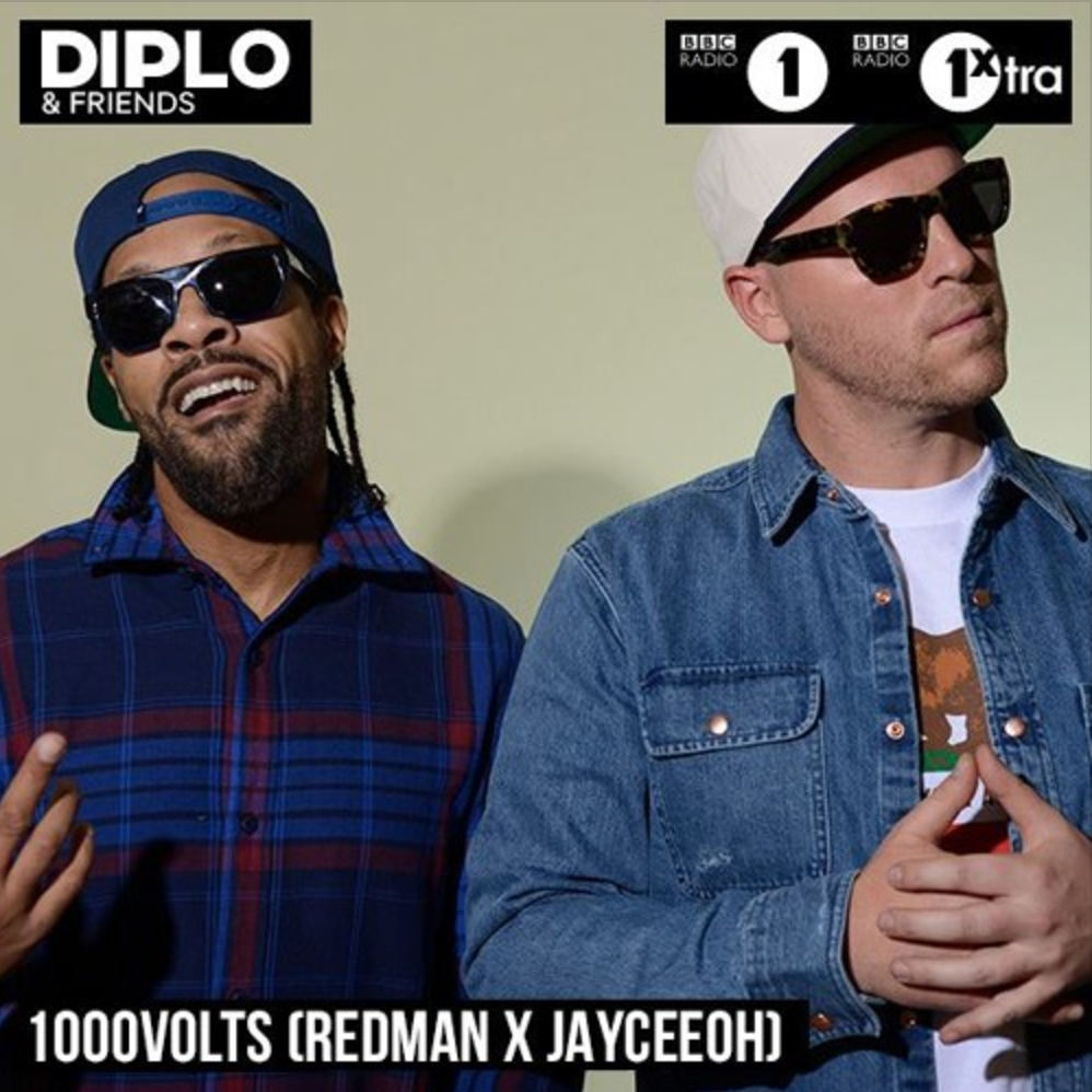 1000volts (Redman & Jayceeoh) Diplo & Friends Guest Mix